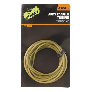 End Tackle Edges Anti-tangle Tube - trans khaki - Fox Carp