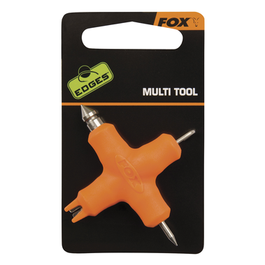 Aasnaald End Tackle Edges Micro Multi Tool - orange - Fox Carp