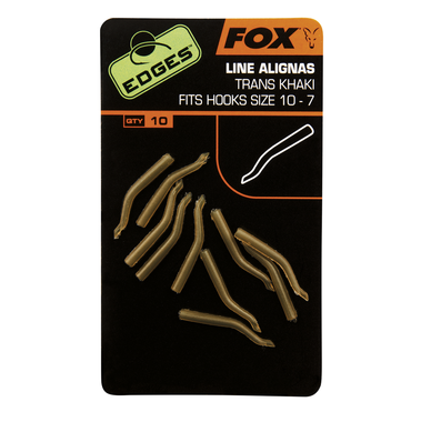 End Tackle Edges Line Aligner Hook - Fox Carp