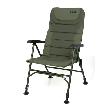 Stoel Warrior II XL arm chair - Fox Carp