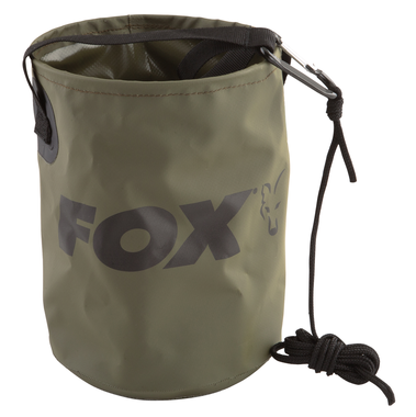 Carpcare Emmer Collapsible Water Bucket - Fox Carp