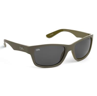Zonnebril Fox Chunk Sunglasses khaki / grey lense - Fox Carp