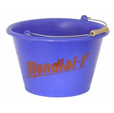 Emmer 17 Liter Blauw - Mondial F