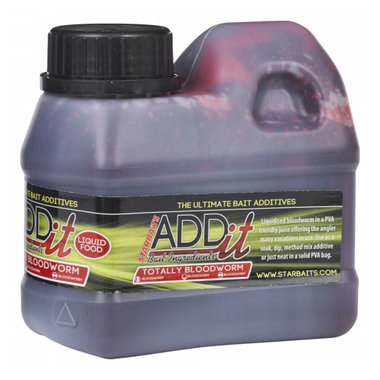 Smaakstof Add It Liquid Bloodworm 500Ml - Starbaits