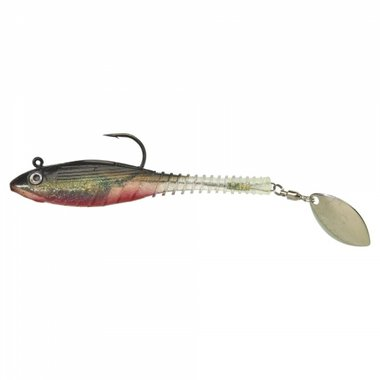 Gunki - Softbaits Grubby Flash 90 Red Ghost- Gunki
