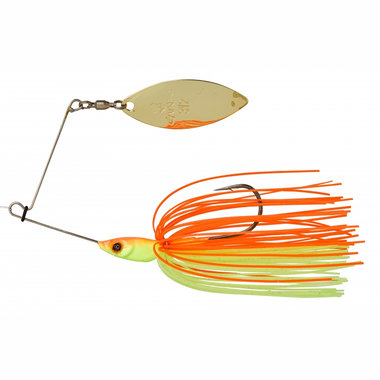 Gunki - Spinner & lepels Spinnaker 1/4 Orange Fluo Yellow - Gunki