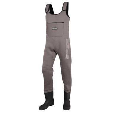 SPRO - Waadpak 4mm Neoprene Chest Wader PVC Boots - SPRO
