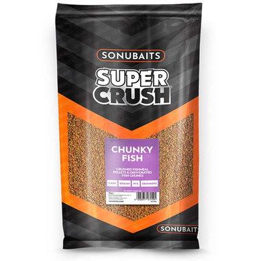 Sonubaits - Voeder Supercrush Chunky Fish - Sonubaits