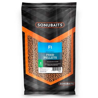 Sonubaits - Pellets F1 Feed Pellets 4mm - Sonubaits