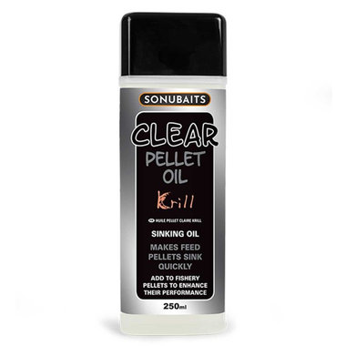 Sonubaits - Smaakstof Clear Pellet Oil Krill - Sonubaits