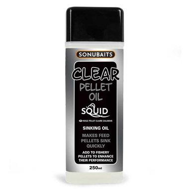 Sonubaits - Smaakstof Clear Pellet Oil Squid - Sonubaits