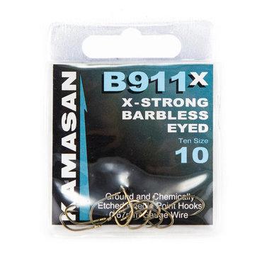 Haken Kamasan X-Strong Barbless Eyed - Elite