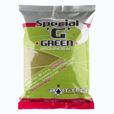 Bait Tech - Voeder Special 'G' Green Groundbait - 1kg - Bait Tech