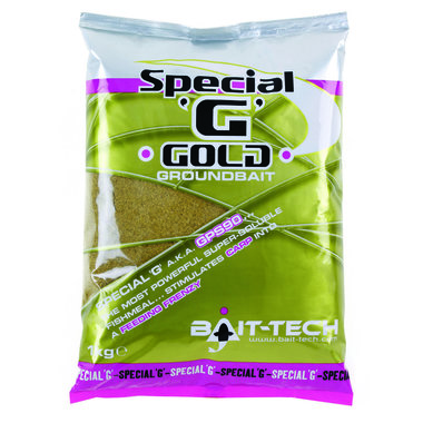 Bait Tech - Voeder Special 'G' Gold Groundbait - 1kg - Bait Tech