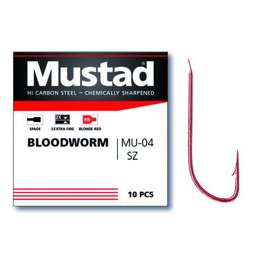 Arca - Haken Mustad MU04 Bloodworm - Arca
