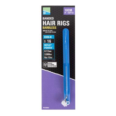 Preston - Onderlijnen Banded Hair Rigs - 38cm - Preston