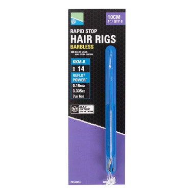 Preston - Onderlijnen Rapid Stop Hair Rigs - 38cm - Preston