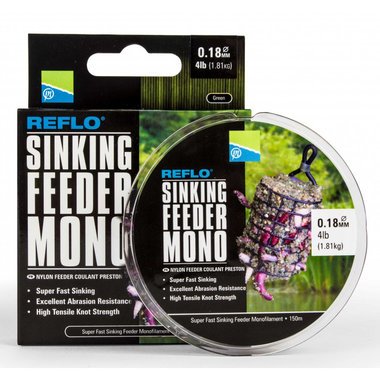 Preston - Lijn nylon Reflo Sinking Feeder Mono 150m - Preston