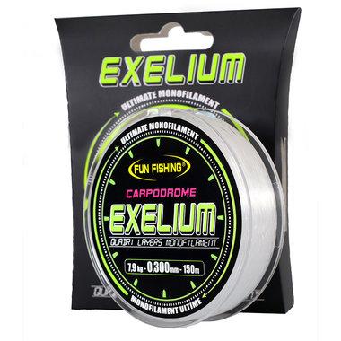 Fun Fishing - Lijn nylon Exelium Carpodrôme - 150m - Fun Fishing