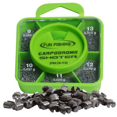 Fun Fishing - Lood Shoter Box - PM  - Plombs N°9 - 10 - 11 - 12 - 13   - Fun Fishing