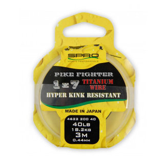 SPRO - Onderlijn Titanium Wire 3m - SPRO