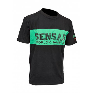 Sensas - T-Shirt Club Bic. groen & zwart - Sensas