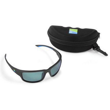 Preston - Zonnebril Polarised Sunglasses - Green Lens  - Preston