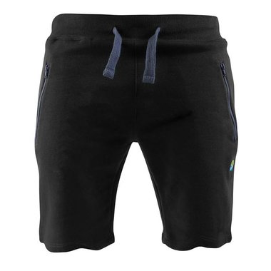 Preston - Broek Black Jogger shorts - Preston