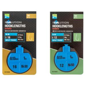 Preston - Onderlijnen Revalution Hooklengths - 100cm - Preston