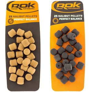 ROK - Kunstaas Halibut Pellet perfect balance - ROK