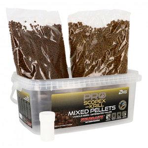Starbaits - Pellets Probio Scopex Krill Pellets mix 2kg - Starbaits