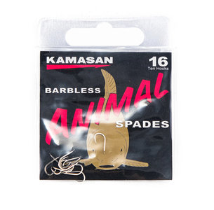 Haken Kamasan Animal Barbless Spades - Elite