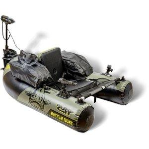 Black Cat - Belly Boat Battle Boat Set - Black Cat