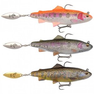 Savage Gear - Softbaits SG 4D Trout Spin Shad - 110mm - 40g - Savage Gear
