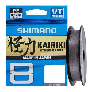 Shimano - Lijn gevlochten Kairiki Steel Gray - 150m - Shimano