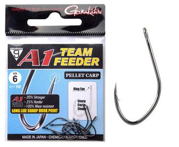 Gamakatsu - Hameçons A1 Team Feeder Pellet Carp - Gamakatsu