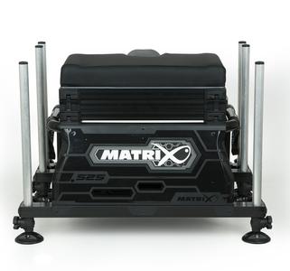Station S25 super box BLACK inc 1 x shallow trays & lid - Matrix