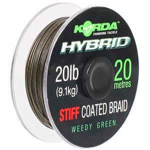 End Tackle Hybrid Stiff 20lb Weed Green 20m - Korda