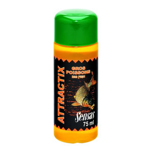 Smaakstof Attractix Gros Poissons/Grote Vis 75Ml - Sensas