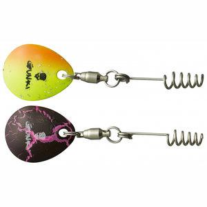 Gunki - Spinnerbladen Fix'Flash C17 Contr. Pink/Yellow - Gunki