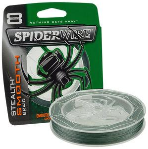 Spiderwire - Lijn gevlochten Stealth Smooth 8 Moss Green 150m - Spiderwire