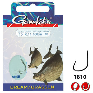 Gamakatsu - Onderlijn Hook BKS Bream Feed - Gamakatsu