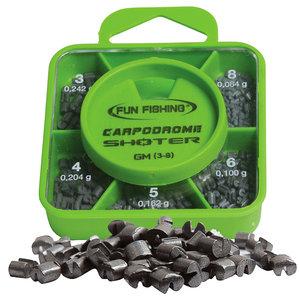 Fun Fishing - Lood Shoter Box - GM - Plombs N°3 - 4 - 5 - 6 - 8  - Fun Fishing