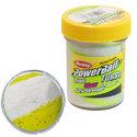 Berkley-Kunstaas-powerbait-glow-sunshine-yellow-white-Berkley